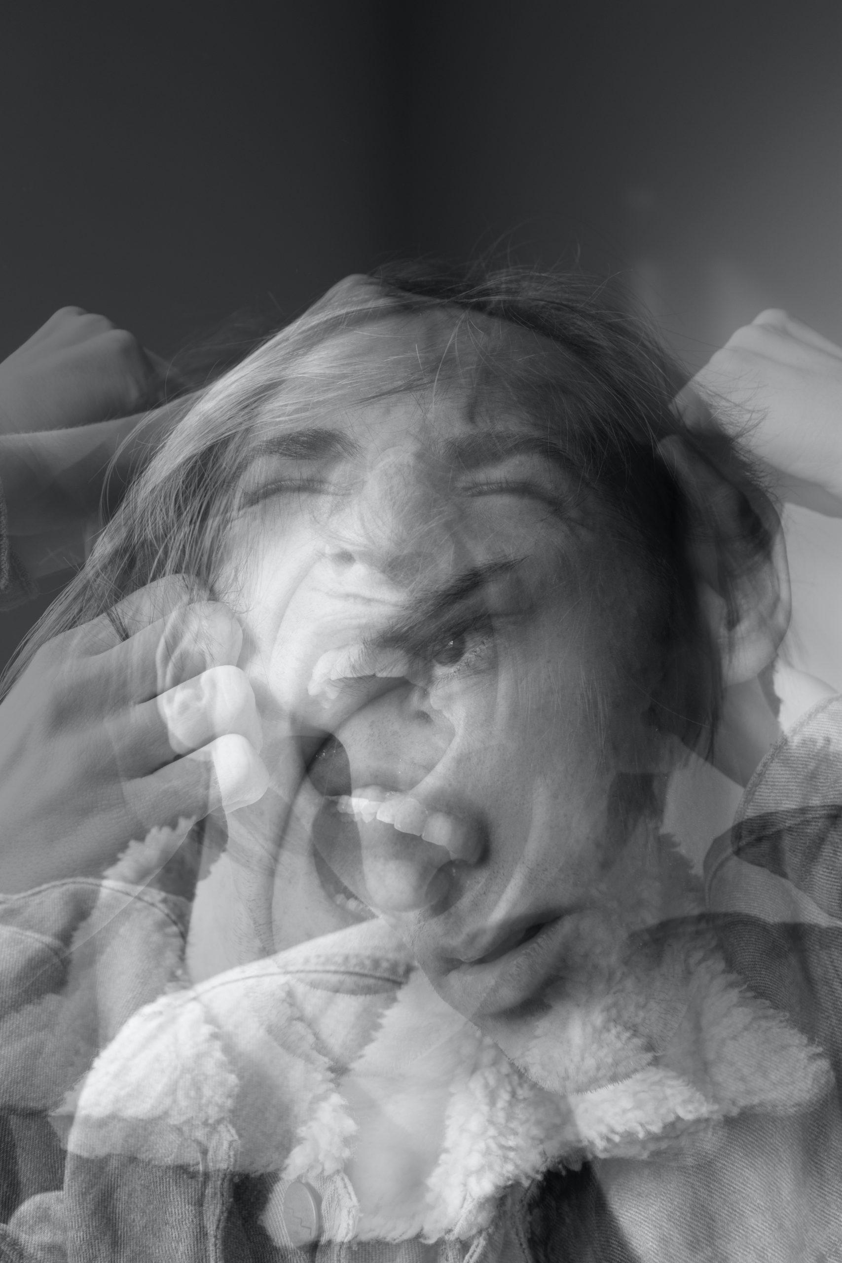 Superposition des émotions (mon interprétation) - Photo de Callum Skelton